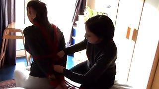 Japanese lesbians bdsm good-luck piece