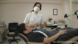 Japanese nurse loves pleasuring her patients with her frowardness