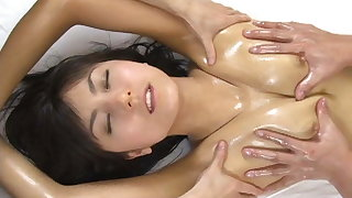 SAORI Milk Wife Oil Massage (Non-Porn)